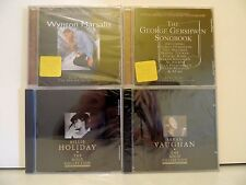 SEALED ! Lot of 4 Jazz CD s - Marsalis, Vaughan, Gerswhin & Holiday - Lot #1