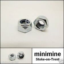 Classic Mini Steering Rack Track Rod End Nyloc Nut PAIR cooper austin rover 1275