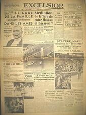 EXCELSIOR 10454 CODE DE LA FAMILLE GOEBBELS PROPAGANDE TOUR DE FRANCE MAES 1939