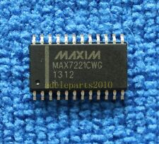 5pcs MAX7221CWG MAX7221 Serially Interfaced, 8-Digit LED Display Drivers
