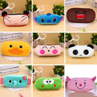 Fashion Cute Soft Plush Pencil Pen Case Novelty Makeup Cosmetic Pouch Bag Zipper