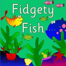 FIDGETY FISH story resource pack on CD- under the sea, seaside - EYFS, KS1
