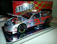 Dale Earnhardt #3 Silver Select 1995 Elite Chevy Monte Carlo 1:24 Diecast Car