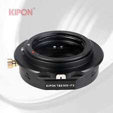 Kipon Tilt Shift Adapter for Nikon F AI Lens to Fuji X-Pro1 X-E1 X-1 X-M1 Camera
