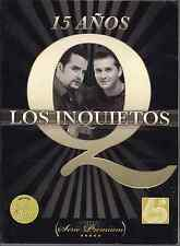 Promo only video CLIPS 2CD+dvd LOS INQUIETOS 15 años VOLVER ven tu + KARAOKE