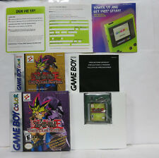 GBC Yu Gi Oh! Dark Duel Stories Nintendo Game Boy Color GameBoy COMPLETE IN BOX