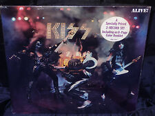 Kiss Alive! SEALED USA 1975 2 LP SET W/ 8 PAGE COLOR BOOKLET & HYPE STICKER