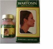 WARTOSIN WART REMOVER FROM FACE,NECK,CHEEK/AXILLA MOLE TAG REMOVER 3ML free ship