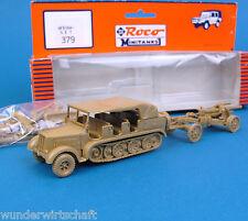 Roco Minitanks H0 379 AFRIKA-SET Halbkettenfahrzeug EDW WWII Wehrmacht HO 1:87