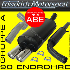 FRIEDRICH MOTORSPORT AUSPUFFANLAGE Audi A6 Limousine+Avant 4B 1.8l Turbo 1.9l TD