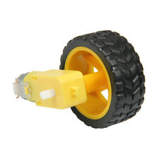 Soft rubber Tire Wheel with DC Gear Motor for Smart Car,Robot Omni wheel