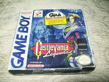 CASTLEVANIA LEGEND GAMEBOY PAL EURO COMPLETE WITH BOX AND MANUAL RARE