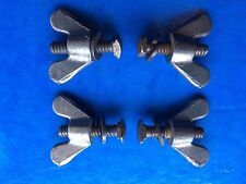 NEW OLD STOCK RARE 4 X VINTAGE 1940'S/50'S MUDGUARD BOLTS/WINGNUTS,BLUEMELS