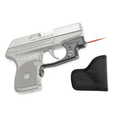 New Crimson Trace Laserguard Red Laser Sight For Ruger LCP W/ Holster LG-431-H