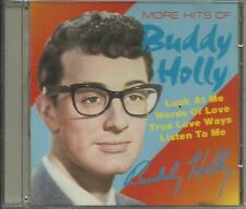 BUDDY HOLLY - More hits of (1987) CD