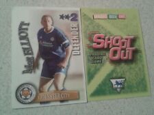SHOOT OUT CARD 2003/04 (03/04) - Green Back - Leicester - Matt Elliot