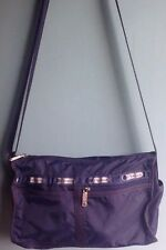 Lesportsac Deluxe Everyday Bag Navy Blue Crossbody Purse