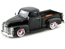 JADA 1953 CHEVY PICKUP BLACK 1/24 DIECAST CAR NE IN BOX 96864QC