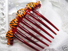 Detroit Tigers tribute French Hair comb or Wilma Flinstone thribute hair comb