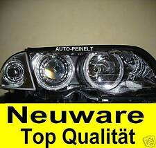 Klarglas Scheinwerfer Angel Eyes BMW E46 Coupe Blinker