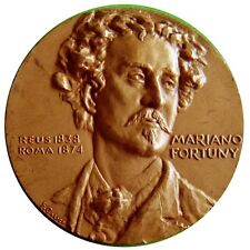 Designer MARIANO FORTUNY y MADRAZO/Bronze Medal by Calico Editors Barcelona M19a