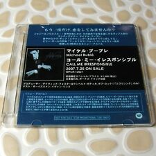 Michael Buble - Call Me Irresible WARNER JAPAN Official Promo CD 13 Tracks #0704