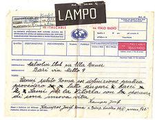 W549-TELEGRAMMA LAMPO 1946?