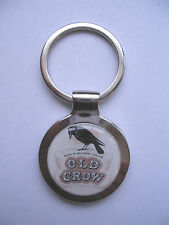Old Crow Key Chain, Old crow Whiskey Logo Keychain, Old Crow Souvenir Key Chain