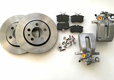2 x New VW Golf MK4 98-05 GTI & TDI Rear Caliper Brake Discs pads Repair Kit