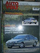 Renault LAGUNA 2 diesel 1.9 dTi dCi depuis 1998 : Revue technique Autovolt 780