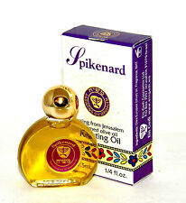 Spikenard Anointing Oil 7.5 ml - 1/4oz From The Holyland Jerusalem.