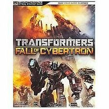 Transformers: Fall of Cybertron Official Strategy Guide, BradyGames, Acceptable