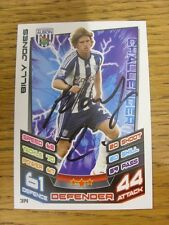 2012/2013 Autograph: West Bromwich Albion - Jones, Billy [Hand Signed 'Topps Mat