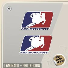 PEGATINA KIT AMA MOTOCROSS USA VINYL STICKER DECAL ADESIVI