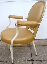Andre Arbus fauteuil médaillon style Louis XVI