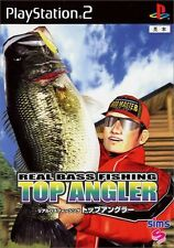 Used PS2 Real Bass Fishing Top AnglerJapan Import (Free Shipping)