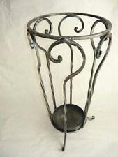 Portaombrelli ombrello in ferro battuto artigianato