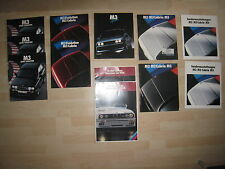 BMW M3 E30 DTM /M3 CSL/ M3 GTR/M3 E92 V8 and more Ultimative Brochure Collection
