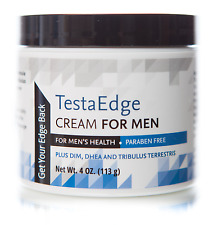 TESTAEDGE MALE TESTOSTERONE CREAM GEL~BODYBUILDER MUSCLE GROWTH~INCREASE STAMINA