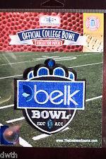 Official NCAA College Football Belk Bowl 2016/17 Patch Virginia Tech Arkansas