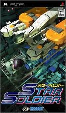 Used PSP Star Soldier  Japan Import ((Free shipping))