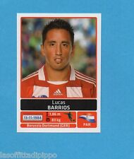 COPA AMERICA 2011 ARGENTINA-Figurina n.154- BARRIOS -PARAGUAY-NEW BLACK