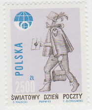 (T6-108) 1993 Poland 2500 post day