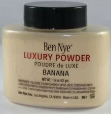 Ben Nye Banana Luxury Face Powder 1.5 oz Makeup Kim Kardashian Beauty Eyes NEW!!