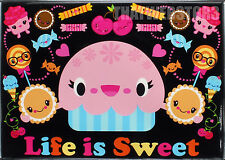 Bored Inc. Life Is Sweet Refrigerator Magnet ~ Licensed ~ NEW