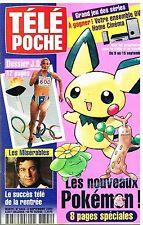 G - Télé Poche N°1804 Les Nouveaux Pokémon,Dossier JO Jeux Olympiques