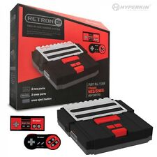 New Retron 2 System - Nintendo NES & Super Nintendo SNES -- BLACK / RED