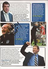 QPR: IAN HOLLOWAY SIGNED A4 (12x8) BOOK/ANNUAL PICTURE+COA
