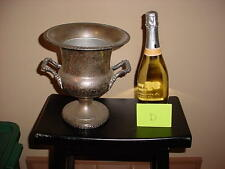 Vintage Champagne Wine Ice Bucket Silver Plate Needs Polishing Lot D