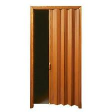 "LTL Home VS3280KL 32-36"" x 80"" Oak Finish Folding Accordion Vinyl Door"